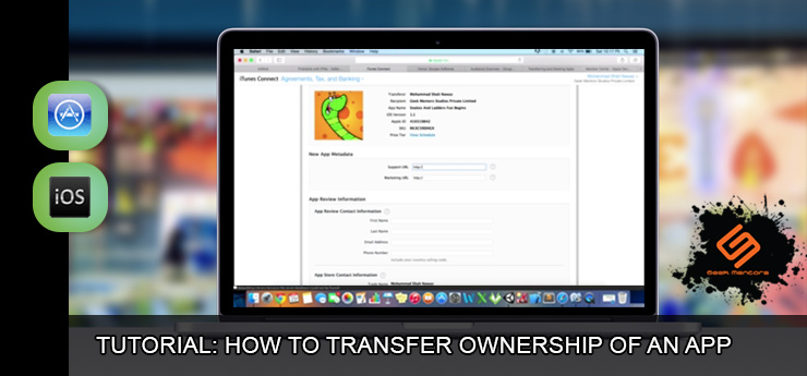 Transfer an app to itunes connect